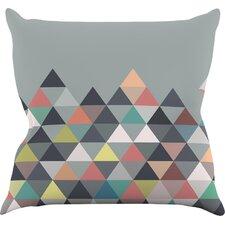 Nordic Combination Abstract Outdoor Throw Pillow