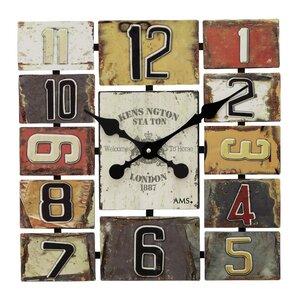 Square Analogue Wall Clock