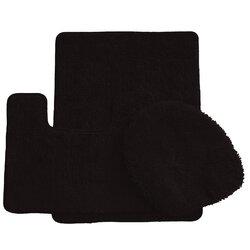 symple stuff 3 piece bath rug set & reviews   wayfair