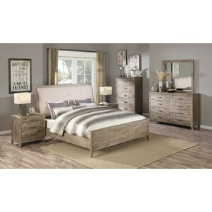 pine bedroom sets you'll love | wayfair
