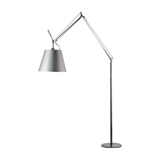 Tolomeo with shade reading floor lamp reviews allmodern for Tolomeo reading floor lamp with parchment shade