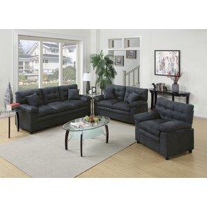 Kingsport 3 Piece Living Room Set