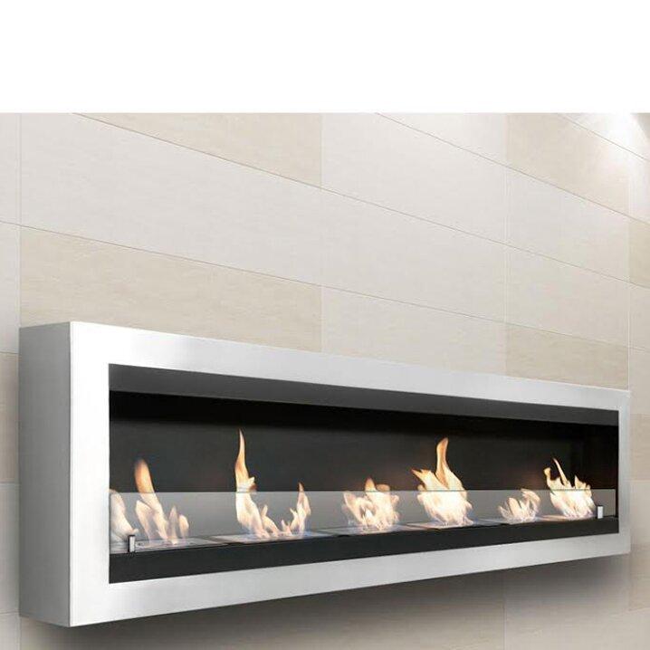Moda Flame Verrazano Wall Mount Ethanol Fireplace | Wayfair