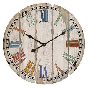 Samantha Round Oversized Wall Clock