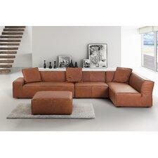Benavidez Leather Sofa
