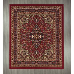 Superior Ryan Red Area Rug