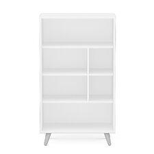 """Sutton 4 Shelf 41"""" Standard Bookcase"""