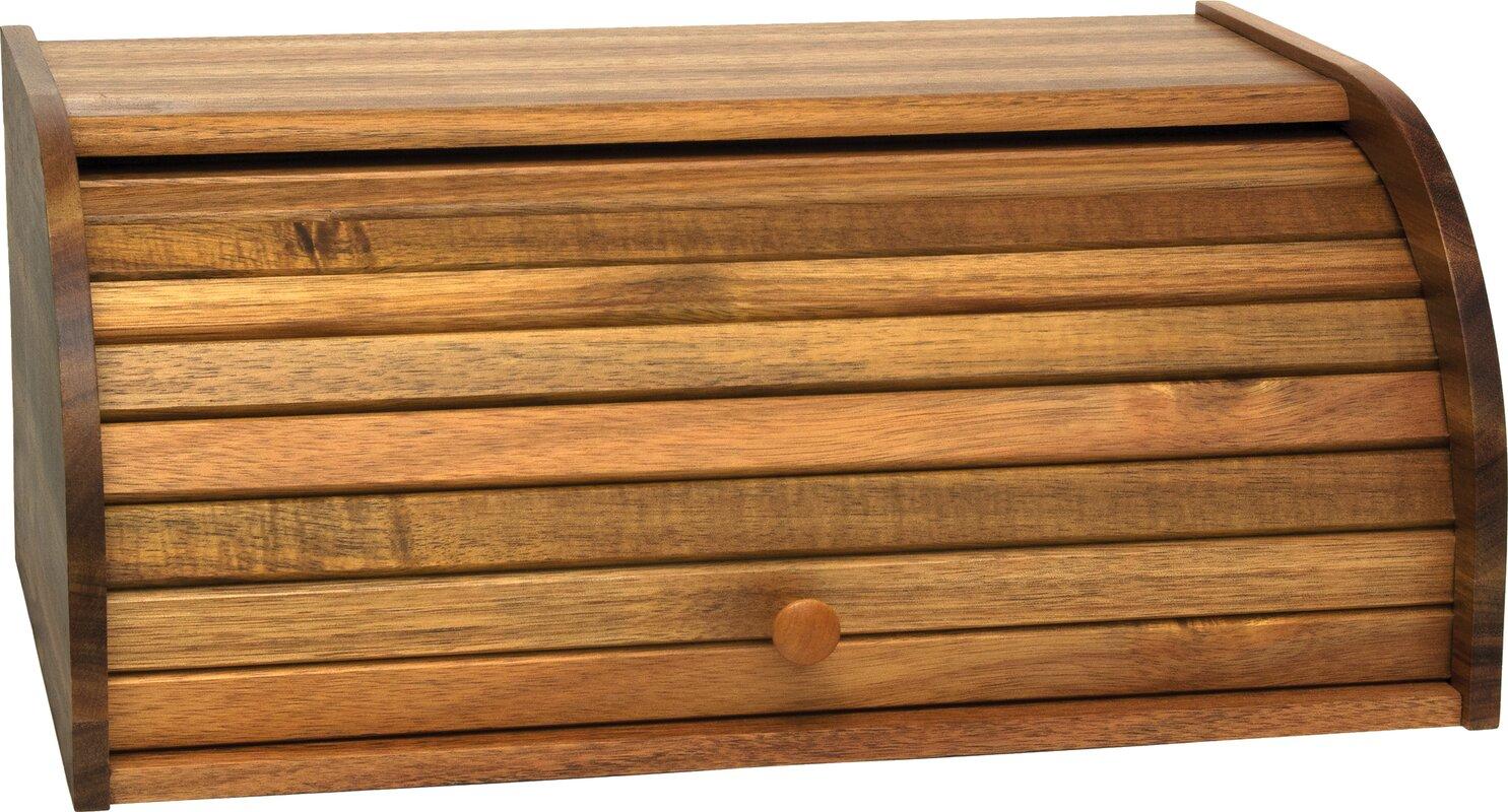 Tin bread box drawer insert - Roll Top Bread Box