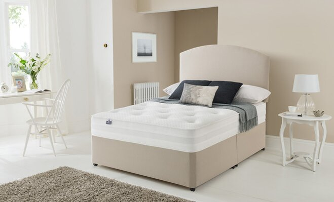 buying guides bedroom mattress on a bed in a modern bedroom - Mattress Buying Guide