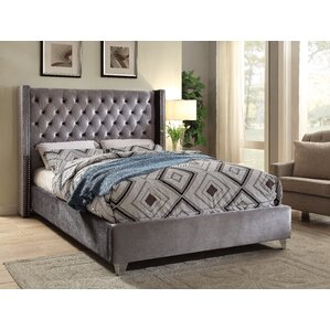 inverness upholstered platform bed - Upholstered Bed Frame