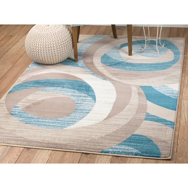 Zipcode Design Rick Blue/Brown Area Rug U0026 Reviews | Wayfair