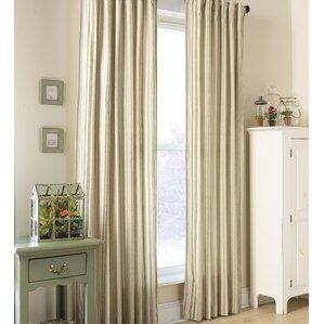 Ticking Stripe Single Curtain Panel