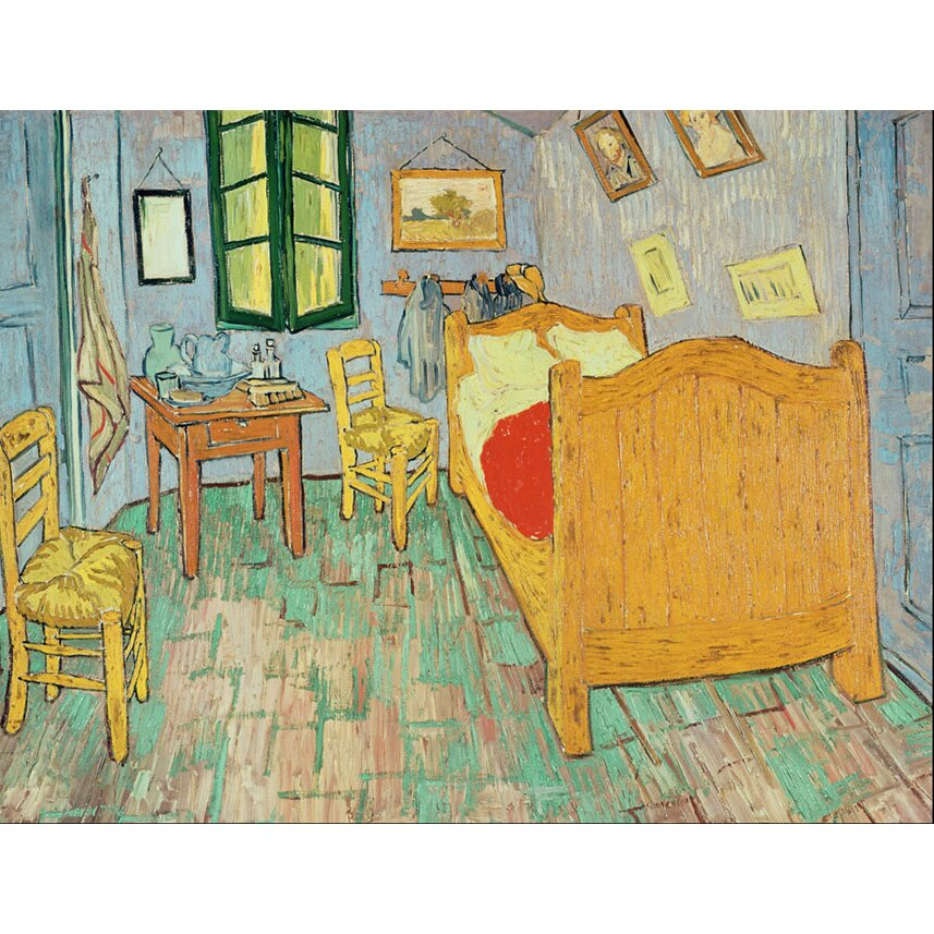 trademark art 39 van gogh 39 s bedroom at arles 39 by vincent van