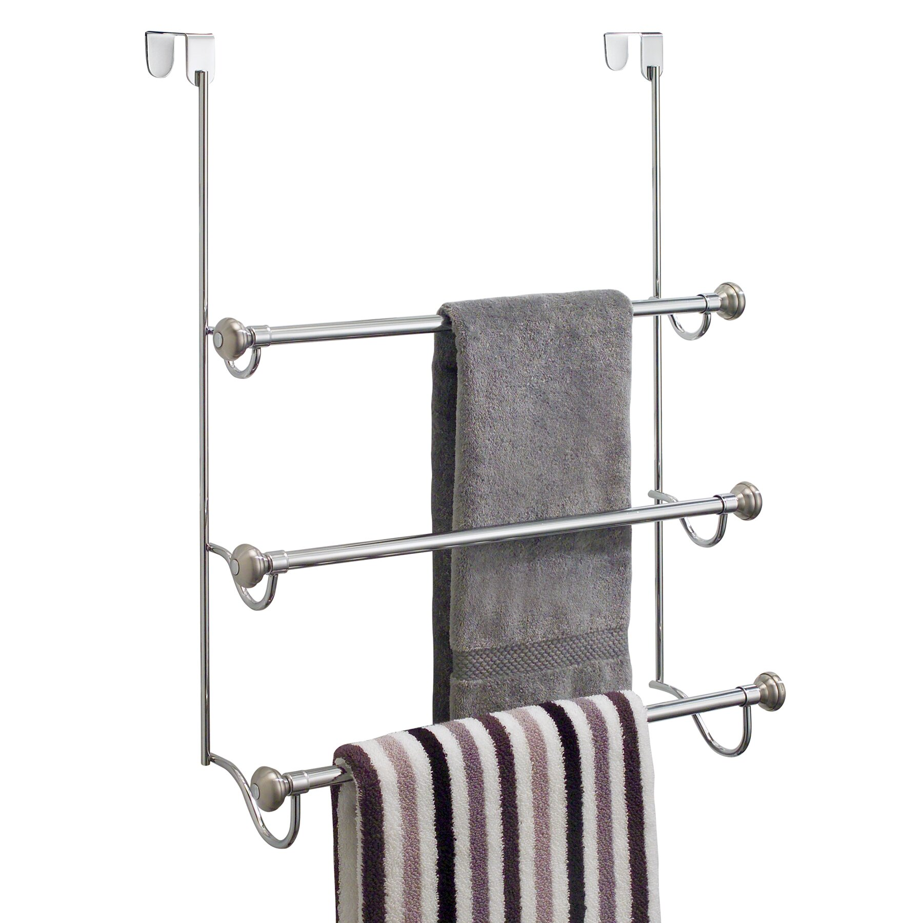 Over The Door Towel Rack With Hooks Ymt 832 60