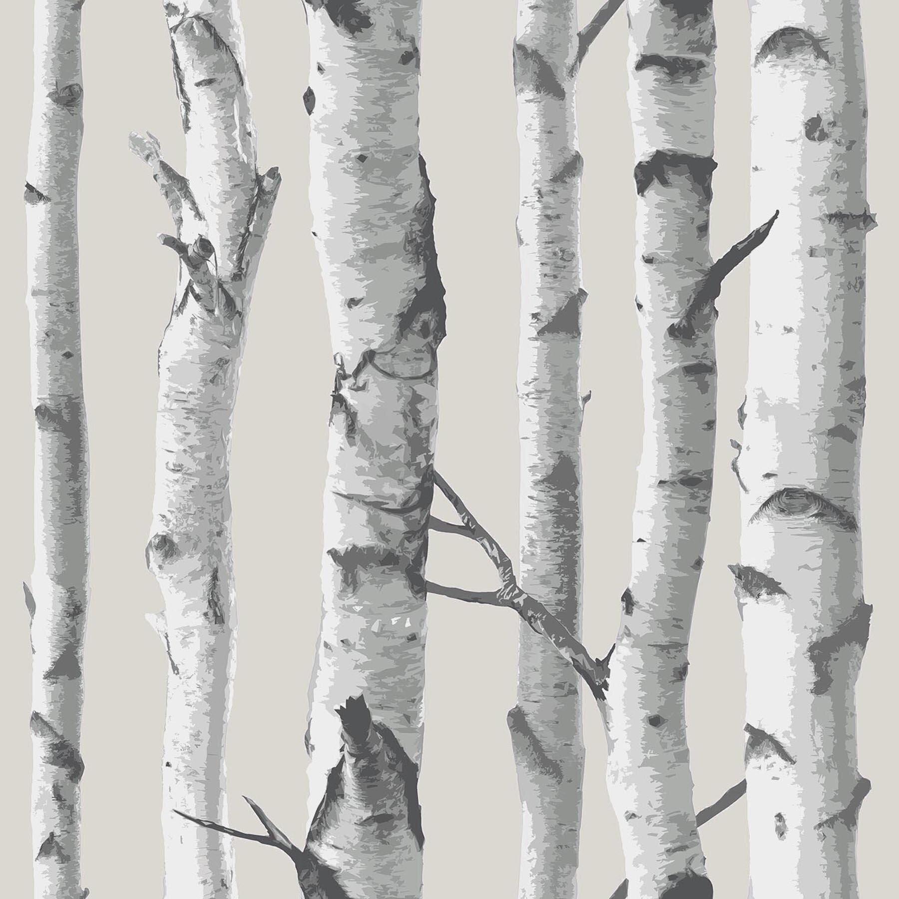 Wallpops Birch Tree 18 X 20 5 Quot Peel And Stick Wallpaper