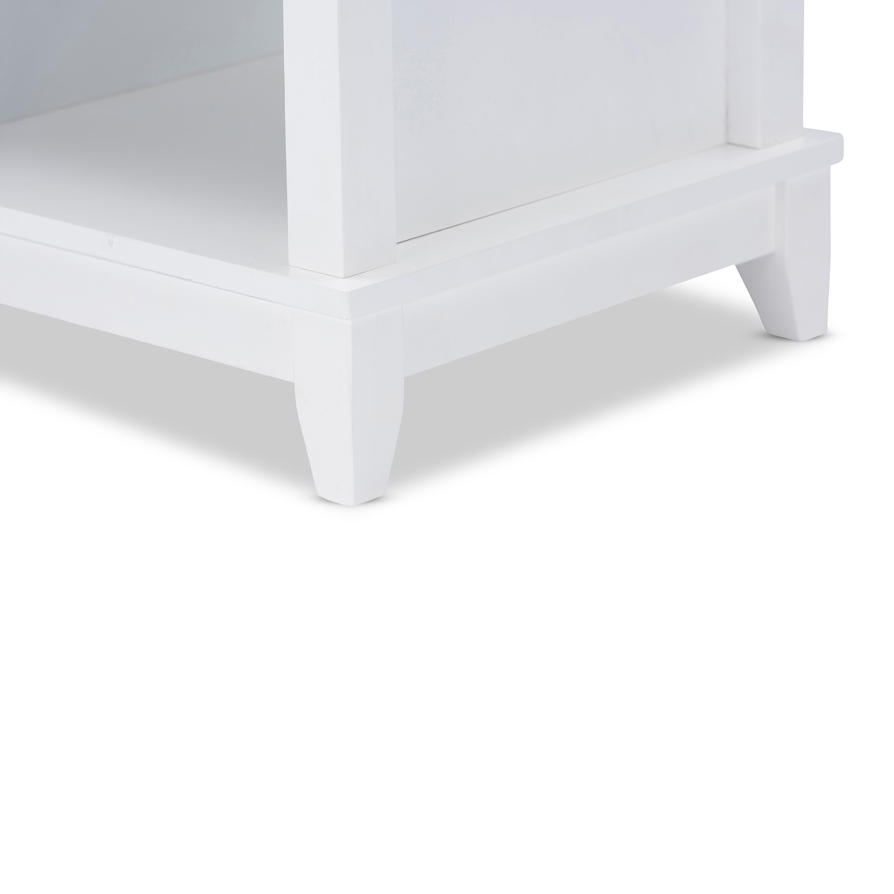 modern white bench - wholesale interiors baxton studio swiss modern and contemporary