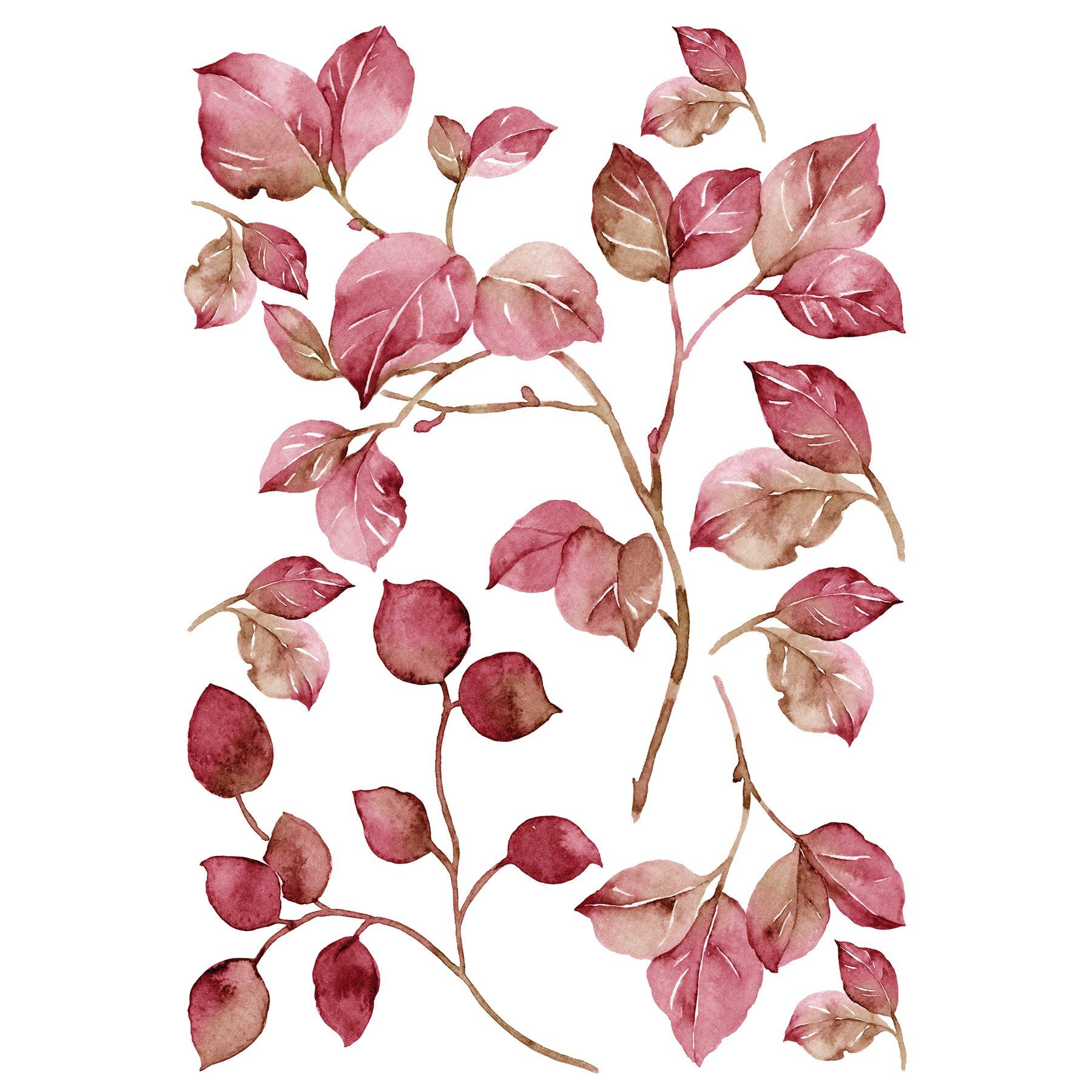 Wallpops Home Decor Line Pink Watercolor Wall Decal Reviews Wayfair