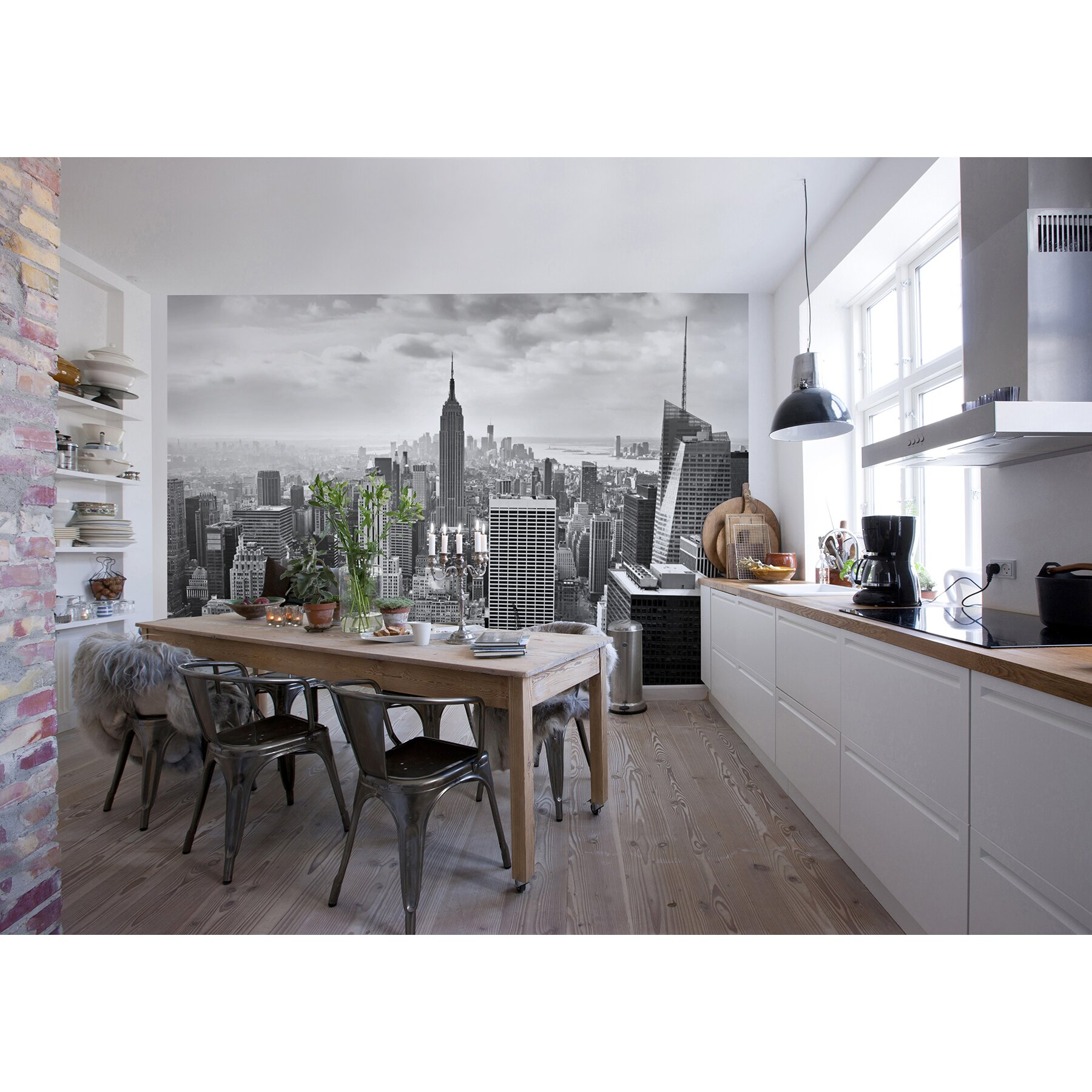 New york wall murals wall murals ideas brewster home fashions new york city wall mural reviews amipublicfo Gallery
