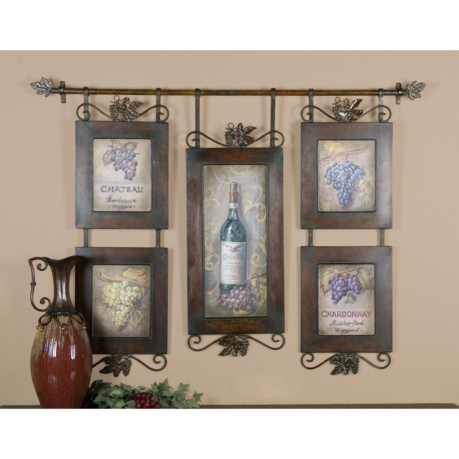 hanging wine wall dcor - Wine Wall Decor