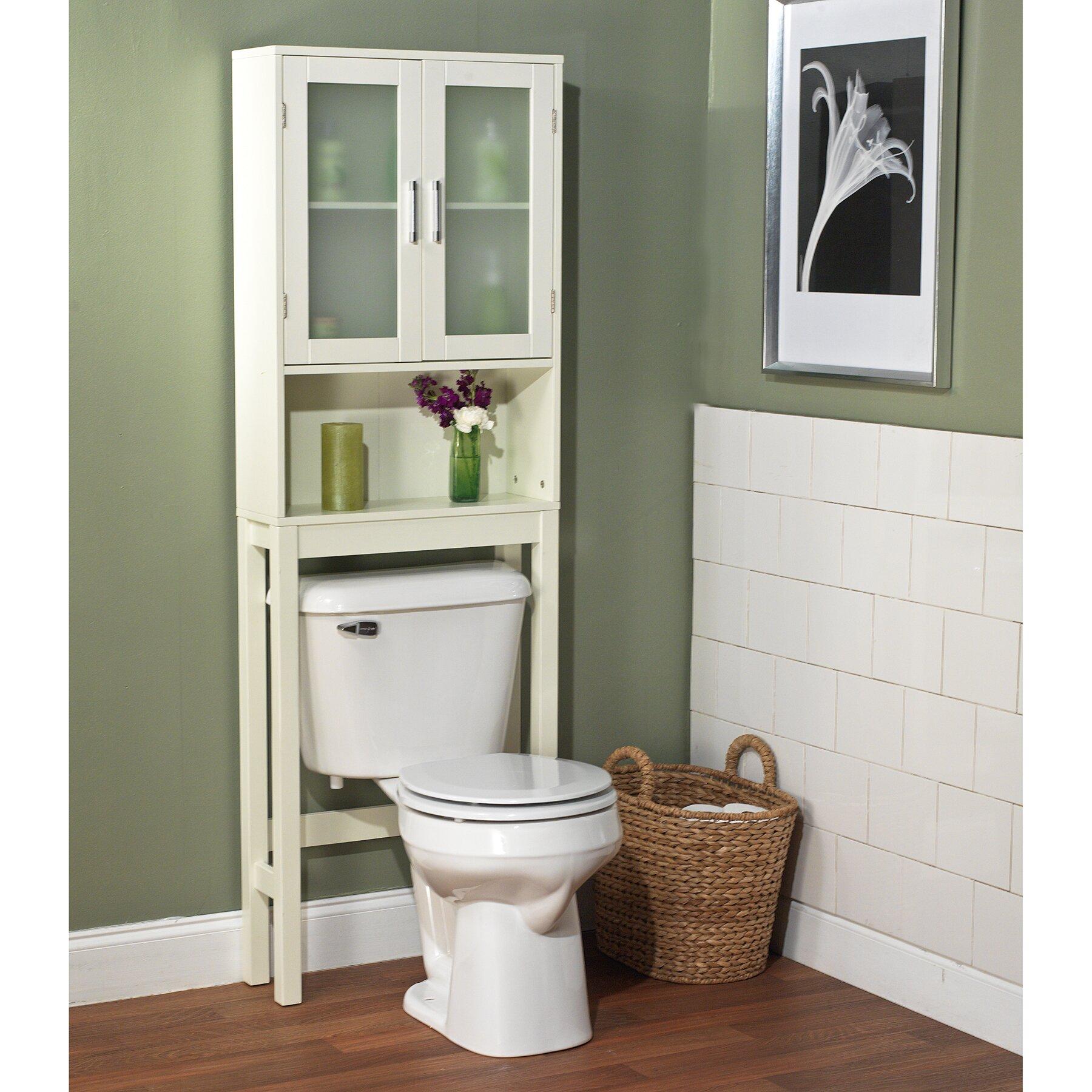 Over The Toilet Bathroom Shelves Over Toilet Storage Cabinet Reviews Joss Main