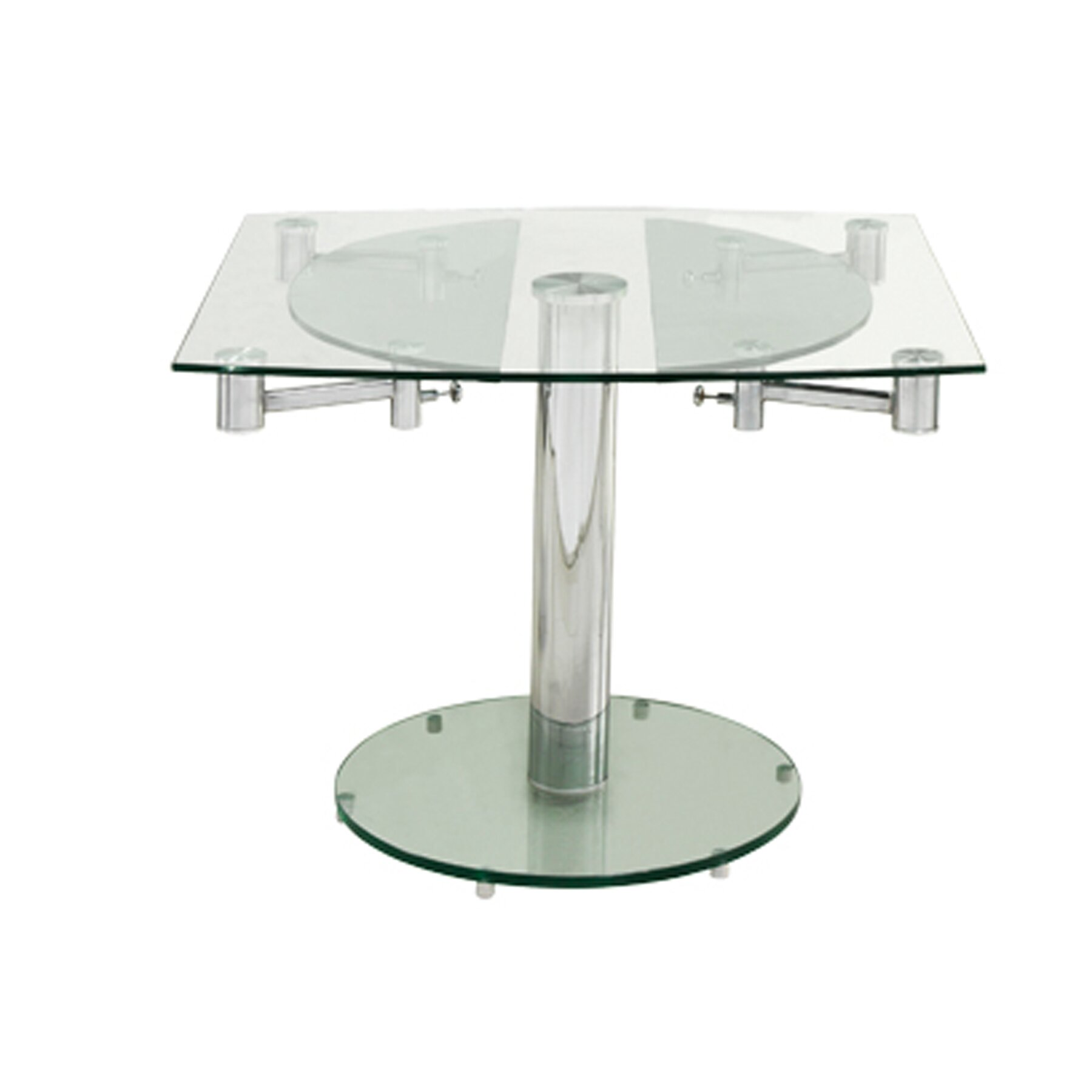 Thao extendable dining table reviews allmodern for Regulation 85 table a