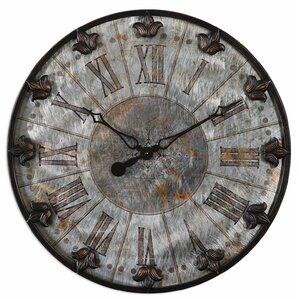 Erasmus Round Oversized Wall Clock