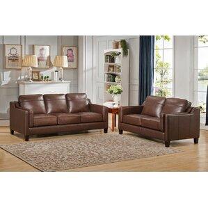 Shop 423 Leather Living Room Sets Wayfair