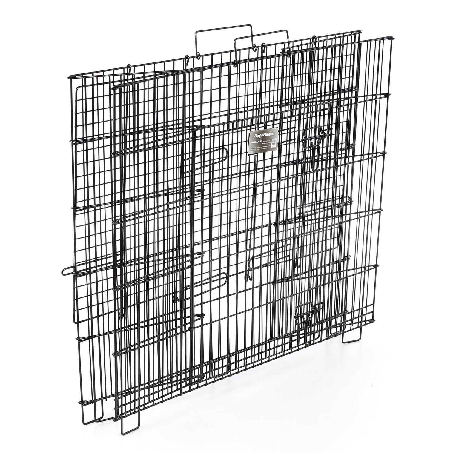 Midwest Homes For Pets Puppy Playpen Plastic Pan Yard