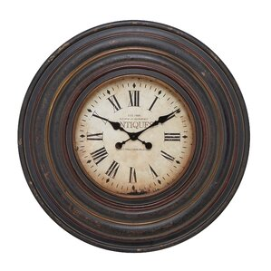 Oversized Vintage Wall Clock Wayfair