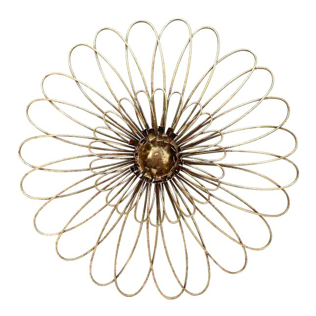 metal flower wall dcor - Metal Flower Wall Decor