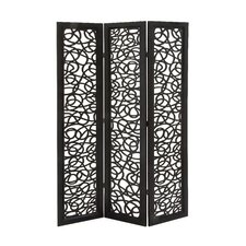 72 H 48 W Traditional 3 Panel Room Divider