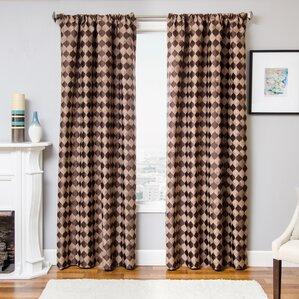 Lovely Palatial Single Curtain Panel