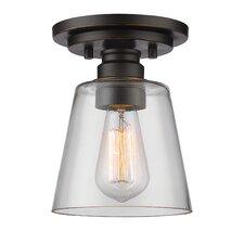 Klingler 1-Light Semi Flush Mount