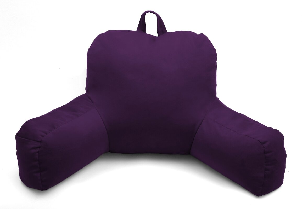 Deluxe Comfort Porter Microsuede Bed Rest Pillow & Reviews