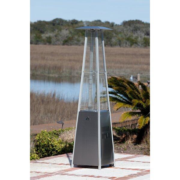 Nice Fire Sense Pyramid Flame 40 000 Btu Propane Patio Heater Reviews