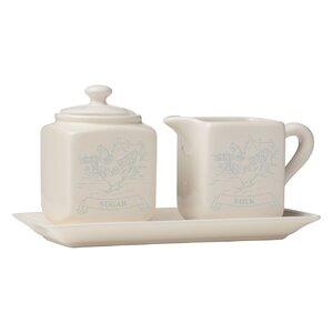Country Milk Jug and Sugar Bowl Set