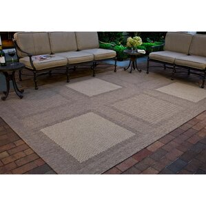 Barhill Large Boxes Outdoor Rug