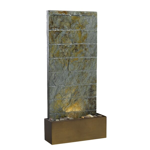 Wildon Home Resin Natural Stone Fountain With Light Reviews Wayfair