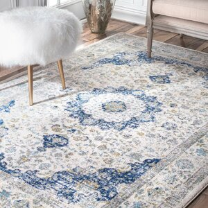 Doylestown Blue/Grey Area Rug