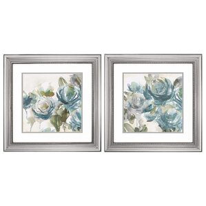 2-Piece Secret Garden Framed Painting Print Set