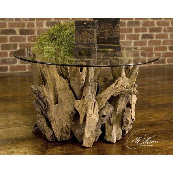 union rustic cindi driftwood coffee table & reviews | wayfair