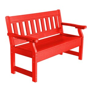 Awesome Heritage Poly Lumber Garden Bench