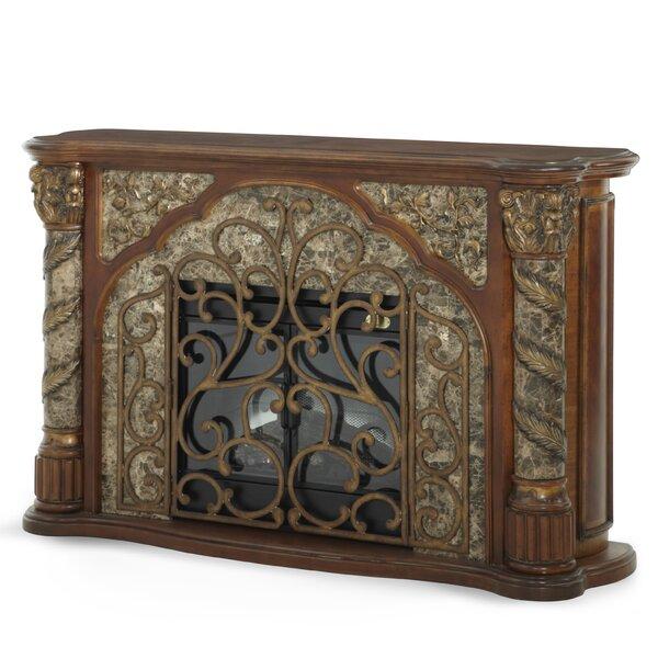 Michael Amini Villa Valencia Decorative Electric Fireplace