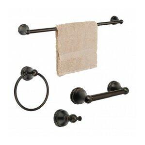 4-Piece Bennington Bathroom Hardware Set