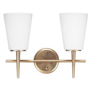 Mid Century Modern Vanity Lighting Youll Love Wayfair