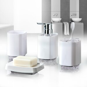 Exceptional Infinity 4 Piece Bathroom Accessory Set