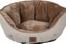 precision pet snoozzy rustic elegance clamshell bed & reviews