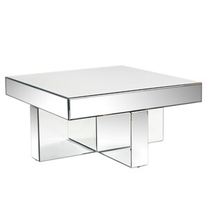 Square Mirrored Coffee Tables Youll Love Wayfair
