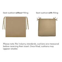 sunbrella outdoor deep seating seat cushion