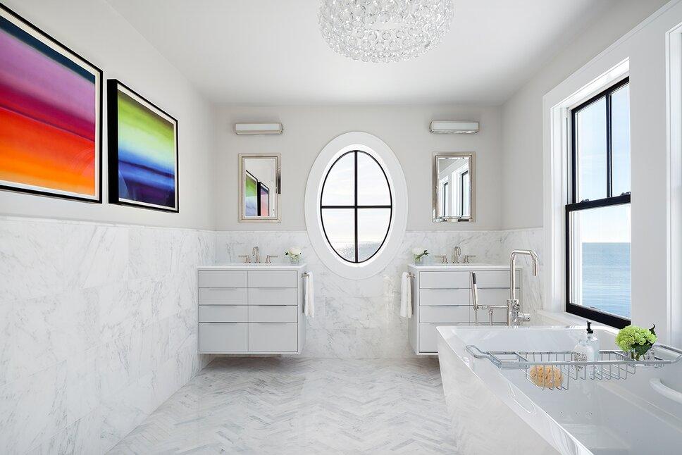 Donna Dotan Photography Inc. Modern & Contemporary Bathroom Design